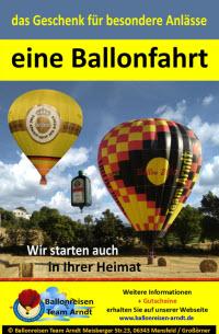 Ballonfahren mit Ballonreisen Arndt