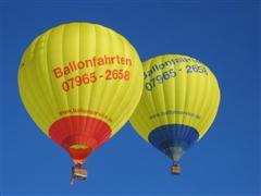 Ballonfahren mit Ballonservice Pfahlheim