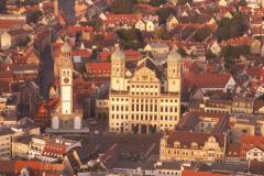 Augsburg aus der Luft