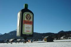 Ballontreffen in den Alpen