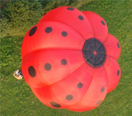 Ballon mit 8 Bahnen